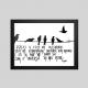 QUADRO: Graças a Deus um passarinho