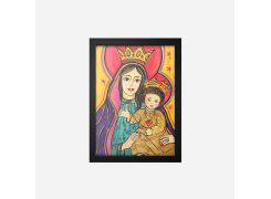 QUADRO: Nossa senhora com menino Jesus