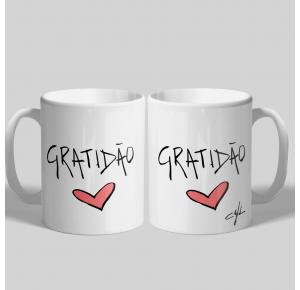 Caneca Gratidão (UNIDADE)